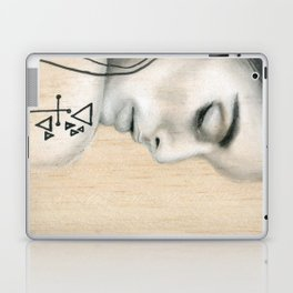Beach Tribe Eight - Gypsy Soul Searching Woman Laptop & iPad Skin