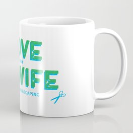 Aquascaping for Fathers and Husbands Coffee Mug