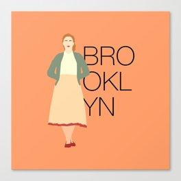Brooklyn is Saoirse Ronan Canvas Print