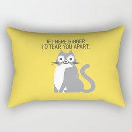 Purrfectly Honest Rectangular Pillow