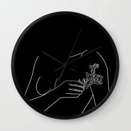 floraison Wall Clock