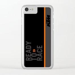 KTM Black Clear iPhone Case
