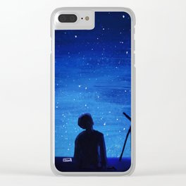 Serendipity Jimin Clear iPhone Case