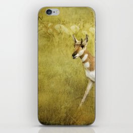 Pronghorn Poster - Grand Tetons iPhone Skin