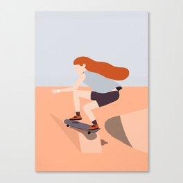 Skate Girl Series Canvas Print