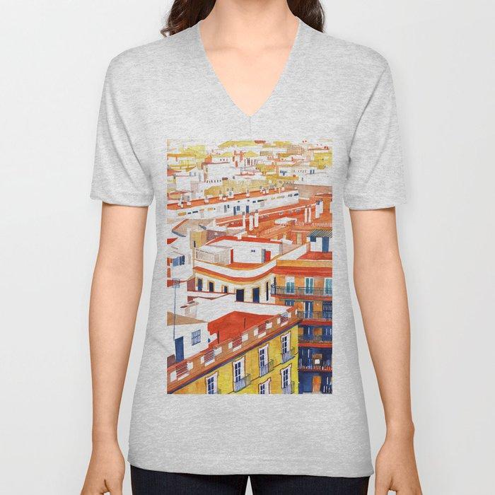 Sevilla Unisex V-Neck