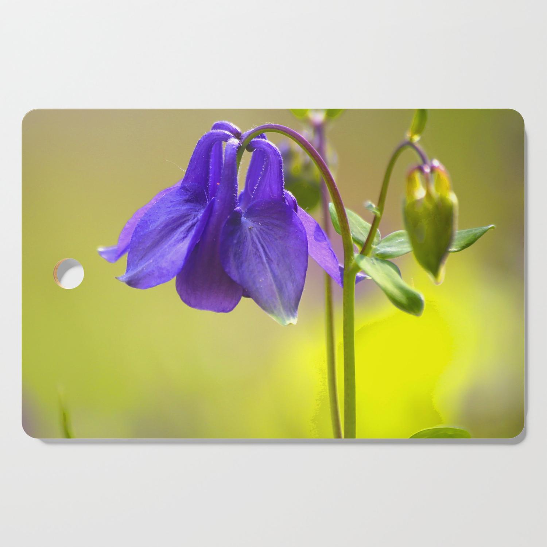 Purple Columbine In Spring Mood Decor Society6 Buyart Cutting