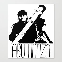 Abu Hamza Canvas Print