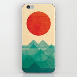 The ocean, the sea, the wave iPhone Skin