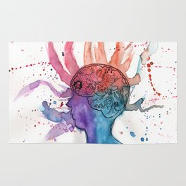 This Is Your Brain On Inspiration Rug