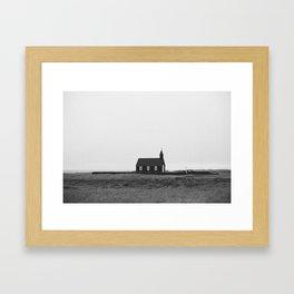 little church Framed Art Print