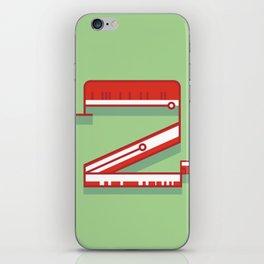 Alphabet Drop Cap Series- 2 iPhone Skin