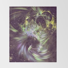 Twisted Time - Black Hole Effects Throw Blanket