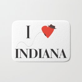 I heart Indiana Bath Mat