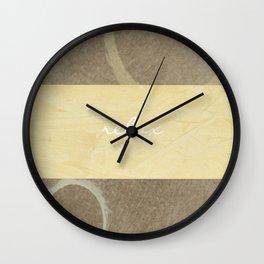 Relax Modern Art w/ Signature Wall Clock