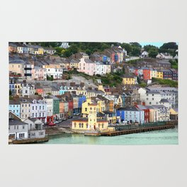 Colorful Cobh Ireland Rug