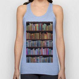 Antique books ft Jane Austen & more Unisex Tank Top