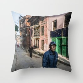 Patan Pierce Throw Pillow