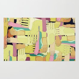 hands and foots Rug