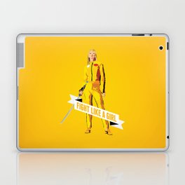 Fight Like a Girl: Beatrix Kiddo Laptop & iPad Skin
