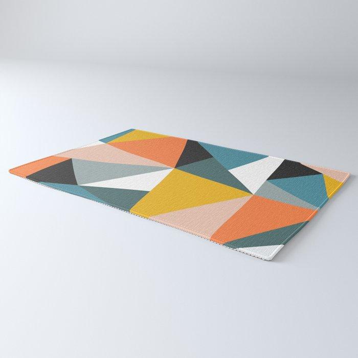 Modern Geometric 36 Rug