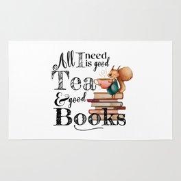 Tea & Books Rug