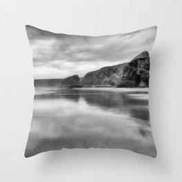 Bedruthan Steps Throw Pillow