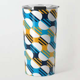 People's Flag of Milwaukee Mod Pattern Travel Mug