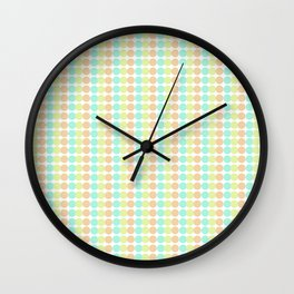 Seeing Sherbert Wall Clock