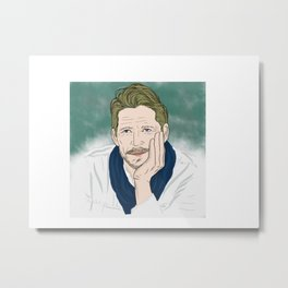 Sean Maguire / Robin Hood (Once Upon A Time) Metal Print