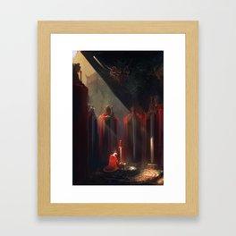 Excalibur Framed Art Print