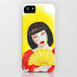 Fan of Light iPhone Case