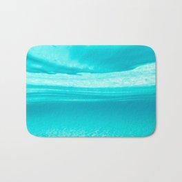 Underwater blues Bath Mat