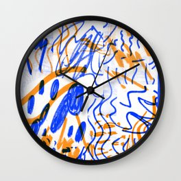 Rumours color Wall Clock