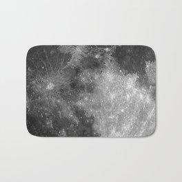Black & White Moon Bath Mat