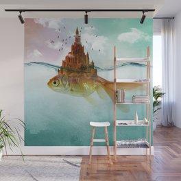 Goldfish Castle Wall Mural