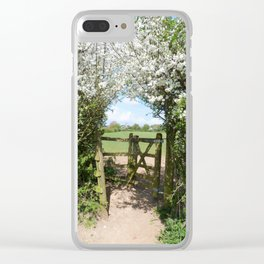 WanderAway Clear iPhone Case