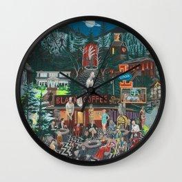 Into the Night Wall Clock