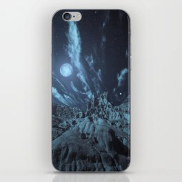 Blue Madness iPhone Skin