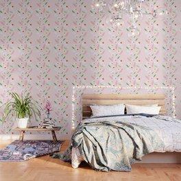 alpine flowers Wallpaper