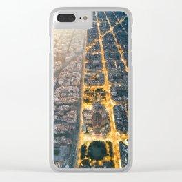Light & Dark Clear iPhone Case