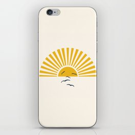 Minimalistic Summer I iPhone Skin