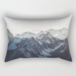 Mountain Mood Rectangular Pillow