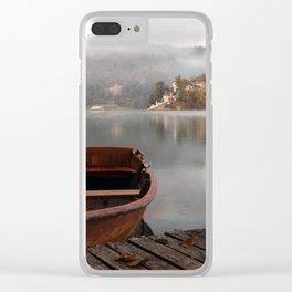 Bucolic landscape Clear iPhone Case