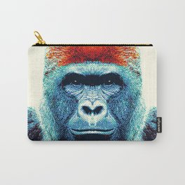 Gorilla -  Colorful Animals Carry-All Pouch
