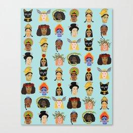 Goddesses Around the World Canvas Print