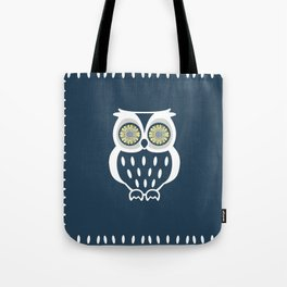 Bright Eyed Owl Tote Bag