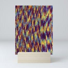 Rainbow Knit Mini Art Print
