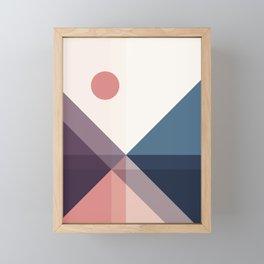 Geometric 1706 Framed Mini Art Print
