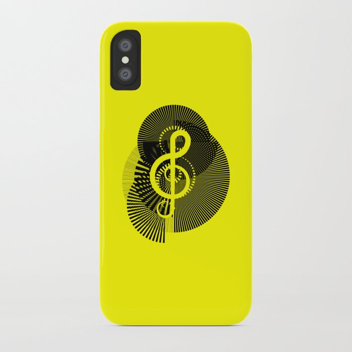 Clef iPhone Case